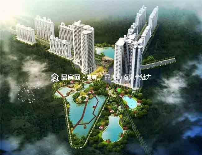 江畔锦城鸟瞰效果图
