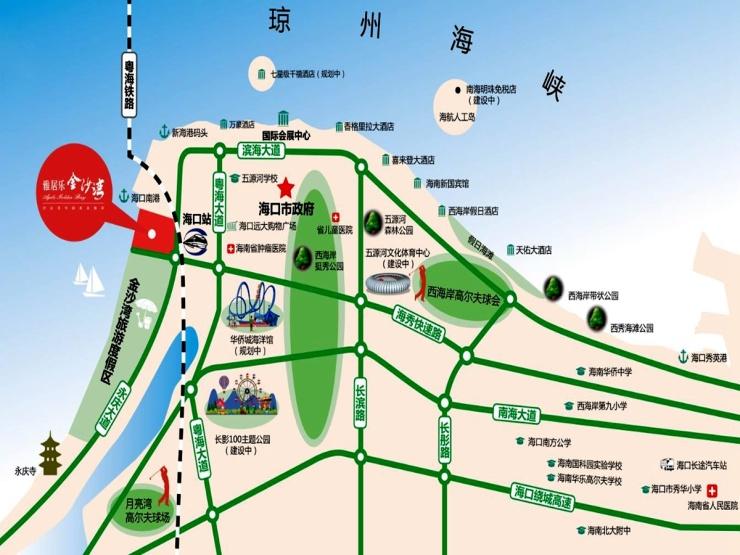 雅居乐金沙湾:项目四期推出瞰海美宅 均价12993元/㎡起