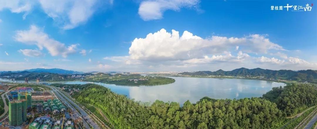 碧桂园十里江南实景图