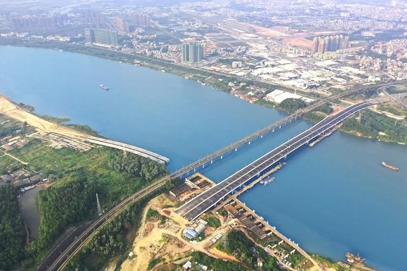 第三东江大桥,实景图